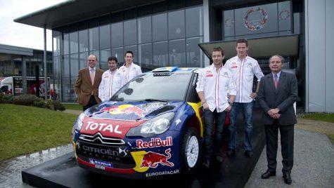 Stelele galaxiei Citroën Racing + interviu cu Loeb