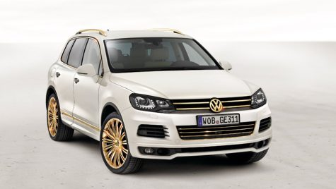 Delicatese VW la Salonul Auto din Qatar