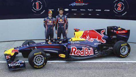 Red Bull Racing a lansat monopostul RB7