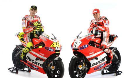 Ducati prezintă publicului piloţii Echipei Ducati Marlboro 2011