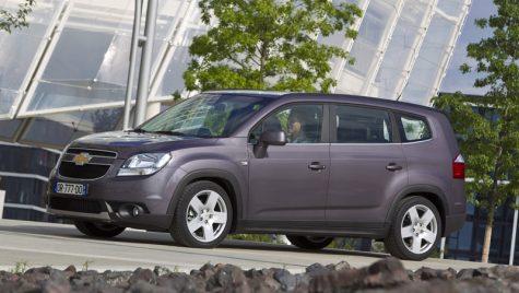Chevrolet Orlando lansat în România