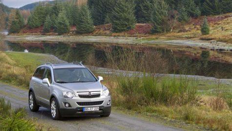 Opel Antara – actualizat şi modernizat