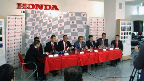 Parteneriat Honda şi FC Dinamo
