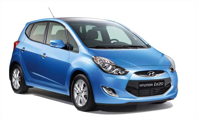 Hyundai ix20 a obținut punctajul maxim Euro NCAP