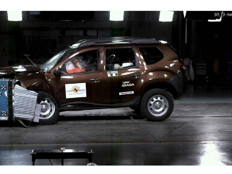 VIDEO: Dacia Duster – 3 stele la testele Euro NCAP