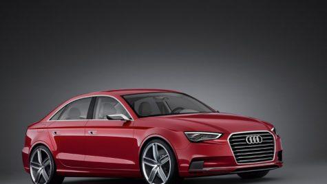 Audi A3 sedan – concept, pentru moment