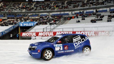 Alain Prost şi Dacia Duster Ice, campioni în Super Finala Trofeului Andros