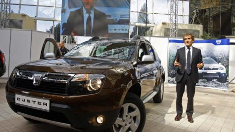 Dacia a prezentat in Romania al saselea model al gamei sale, Duster