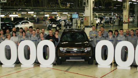 VIDEO: Dacia atinge borna 4.000.000