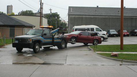 Remorcarea unei maşini defecte
