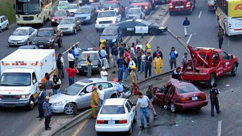 Martori la accident