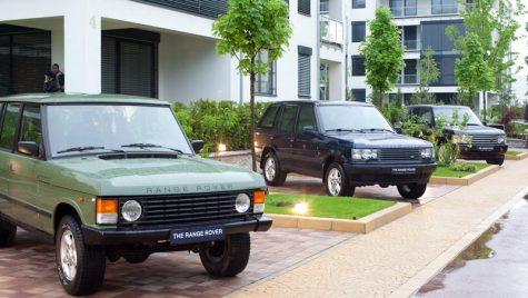 Range Rover la 40 de ani