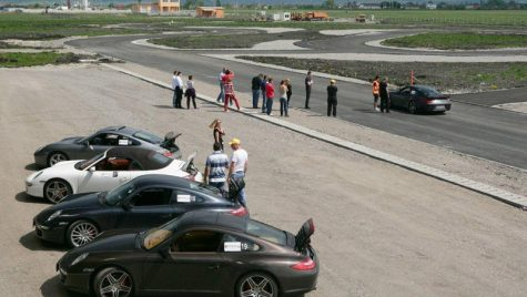 Porsche Club România la Prejmer Circuit