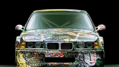 Picturi pe automobil